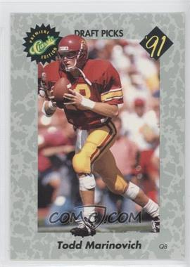 1991 Classic Draft Picks #31 - Browning Nagle