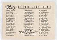 Checklist/COA