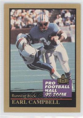 1991 Enor Pro Football Hall of Fame - [Base] #23 - Earl Campbell