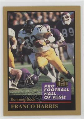 1991 Enor Pro Football Hall of Fame - [Base] #58 - Franco Harris
