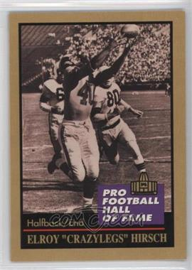 1991 Enor Pro Football Hall of Fame - [Base] #66 - Elroy Hirsch