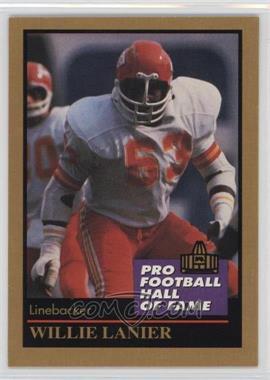 1991 Enor Pro Football Hall of Fame - [Base] #83 - Willie Lanier