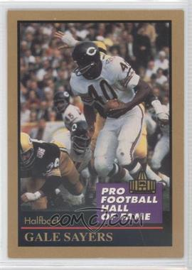 1991 Enor Pro Football Hall of Fame #125 - Gale Sayers