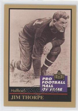 1991 Enor Pro Football Hall of Fame #137 - Jim Thorpe