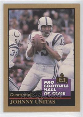 1991 Enor Pro Football Hall of Fame #143 - Johnny Unitas