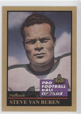 1991 Enor Pro Football Hall of Fame #146 - Steve Van Buren