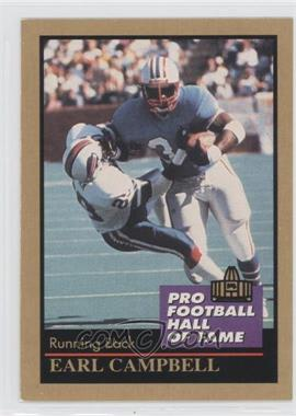 1991 Enor Pro Football Hall of Fame #23 - Earl Campbell