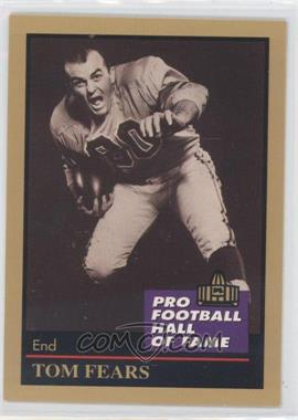 1991 Enor Pro Football Hall of Fame #40 - [Missing]
