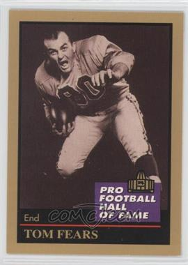 1991 Enor Pro Football Hall of Fame #40 - Tom Fears