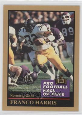 1991 Enor Pro Football Hall of Fame #58 - Franco Harris