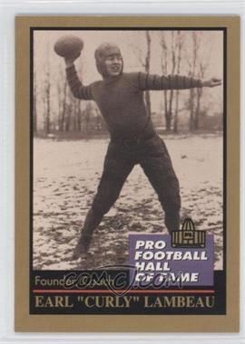 1991 Enor Pro Football Hall of Fame #78 - [Missing]