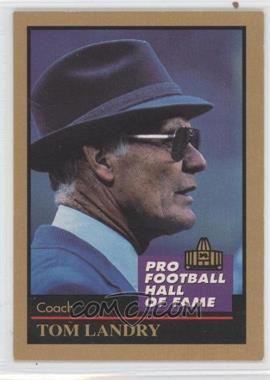 1991 Enor Pro Football Hall of Fame #80 - Tom Landry