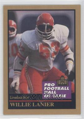 1991 Enor Pro Football Hall of Fame #83 - Willie Lanier