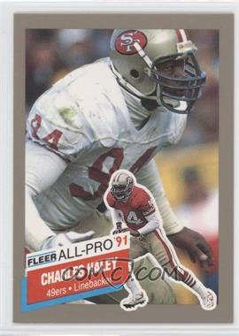 1991 Fleer - All-Pro #21 - Charles Haley