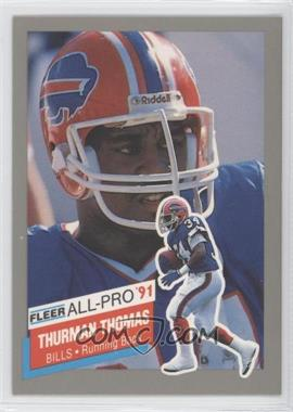 1991 Fleer - All-Pro #26 - Thurman Thomas