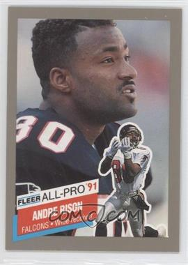 1991 Fleer - All-Pro #8 - Andre Rison