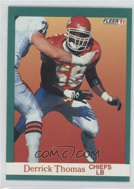 1991 Fleer - [Base] #100 - Derrick Thomas