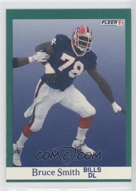 1991 Fleer - [Base] #11 - Bruce Smith