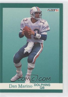 1991 Fleer - [Base] #124 - Dan Marino