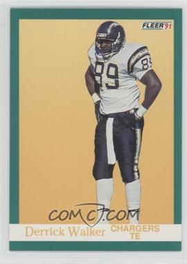 1991 Fleer - [Base] #181 - Derrick Walker