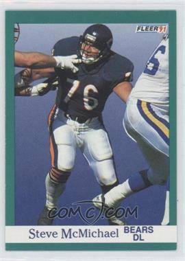 1991 Fleer - [Base] #222 - Steve McMichael