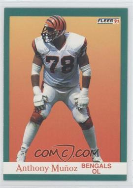 1991 Fleer - [Base] #26 - Anthony Munoz