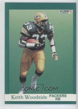 1991 Fleer - [Base] #263 - Keith Woodside