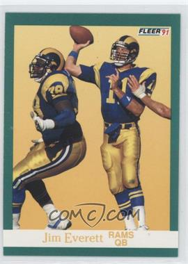 1991 Fleer - [Base] #267 - Jim Everett