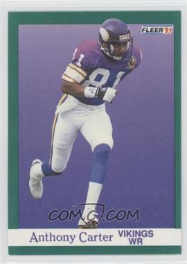 1991 Fleer - [Base] #279 - Anthony Carter
