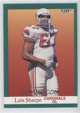 1991 Fleer - [Base] #348 - Luis Sharpe