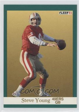 1991 Fleer - [Base] #367 - Steve Young