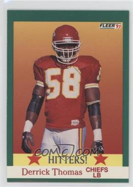 1991 Fleer - [Base] #400 - Derrick Thomas