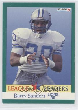 1991 Fleer - [Base] #415 - Barry Sanders
