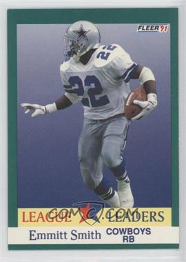 1991 Fleer - [Base] #418 - Emmitt Smith