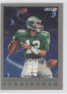 1991 Fleer - Pro Vision #7 - Randall Cunningham