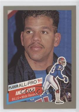 1991 Fleer All-Pro #1 - Andre Reed