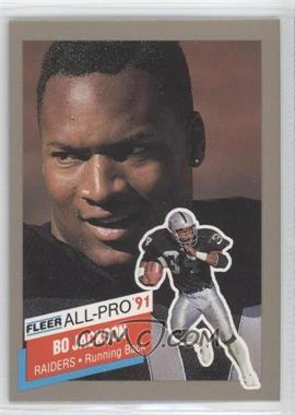 1991 Fleer All-Pro #10 - Bo Jackson