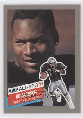 1991 Fleer All-Pro #10 - Bo Jackson