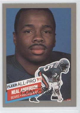 1991 Fleer All-Pro #11 - Neal Anderson