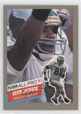 1991 Fleer All-Pro #12 - Keith Jackson