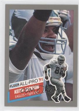 1991 Fleer All-Pro #12 - Keith Jackson