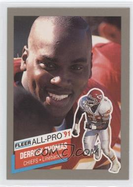 1991 Fleer All-Pro #13 - Derrick Thomas