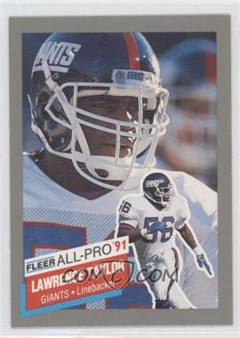 1991 Fleer All-Pro #15 - Lawrence Taylor