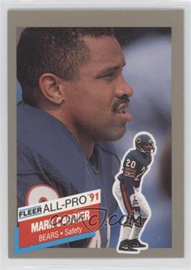 1991 Fleer All-Pro #17 - Mark A. Carrier