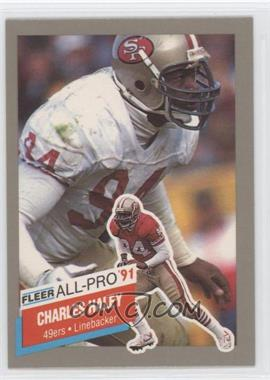 1991 Fleer All-Pro #21 - Charles Haley