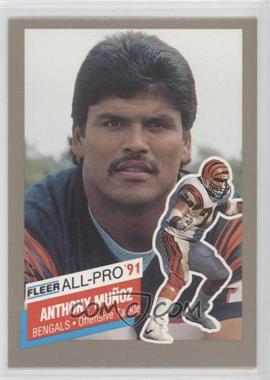 1991 Fleer All-Pro #25 - Anthony Munoz