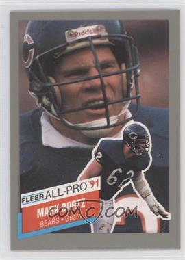 1991 Fleer All-Pro #4 - Mark Bortz