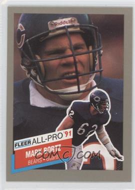 1991 Fleer All-Pro #4 - Mark Bortz