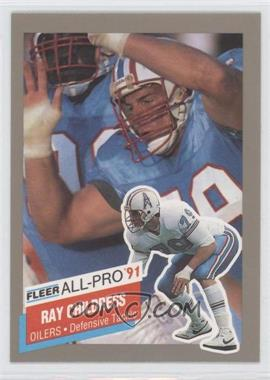 1991 Fleer All-Pro #7 - Ray Childress
