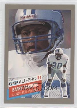 1991 Fleer All-Pro #9 - Barry Sanders